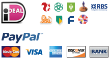 Pay with iDEAL & PayPal