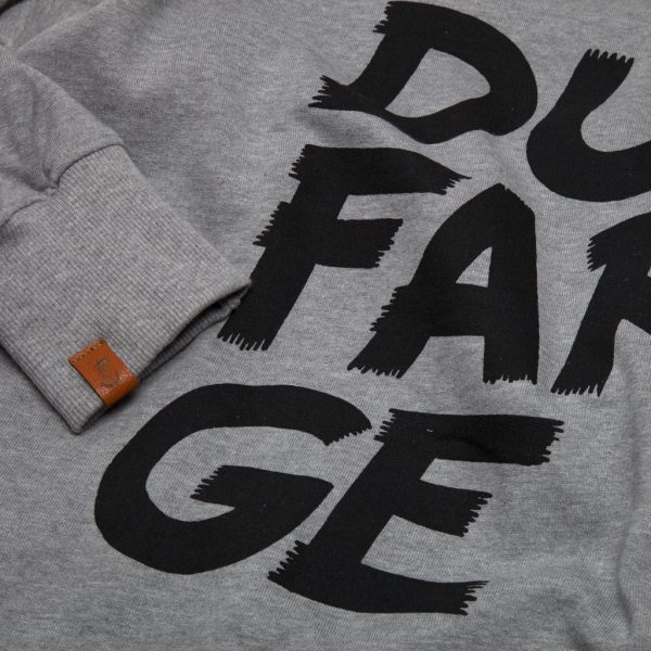 Stacked Type Sweatshirt