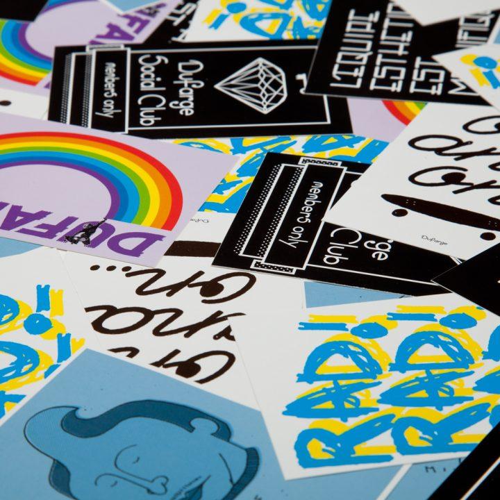 Dufarge Stickers